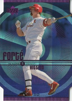 1999 Upper Deck Forte Quadruple #F21 Mark McGwire