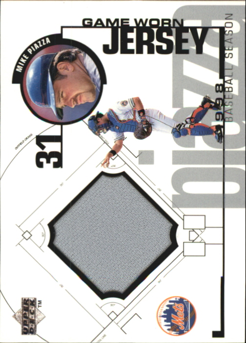1999 Upper Deck Game Jersey #MP Mike Piazza HR1