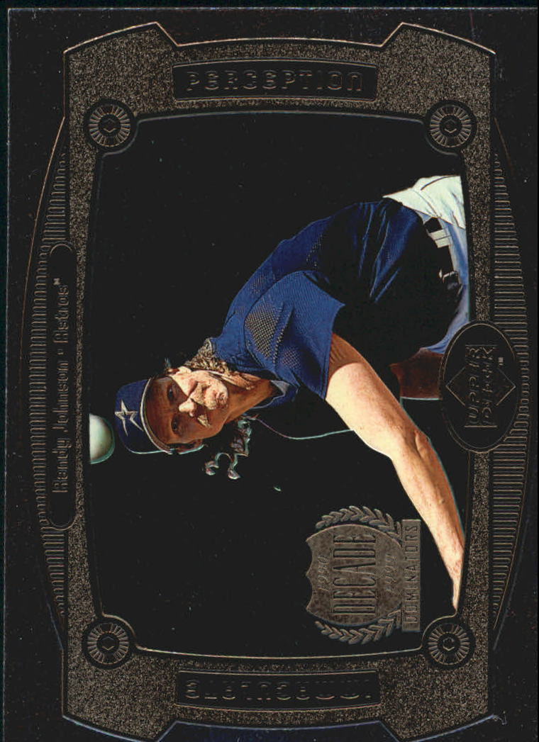 1999 Upper Deck Immaculate Perception #I11 Randy Johnson