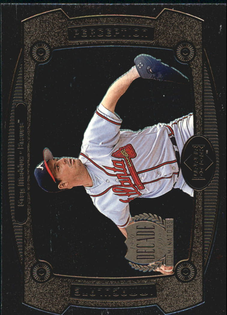 1999 Upper Deck Immaculate Perception #I15 Greg Maddux