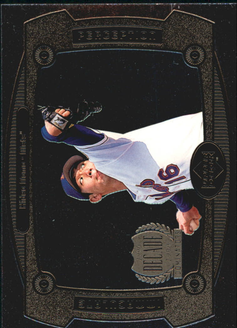 1999 Upper Deck Immaculate Perception #I17 Hideo Nomo