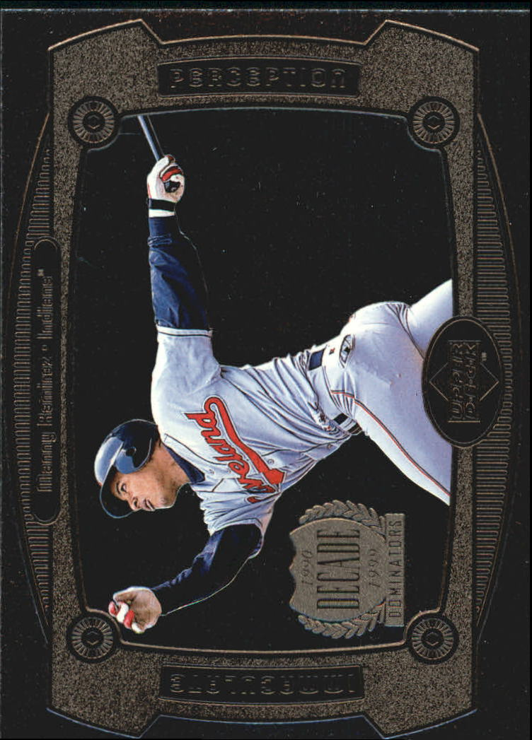 1999 Upper Deck Immaculate Perception #I19 Manny Ramirez