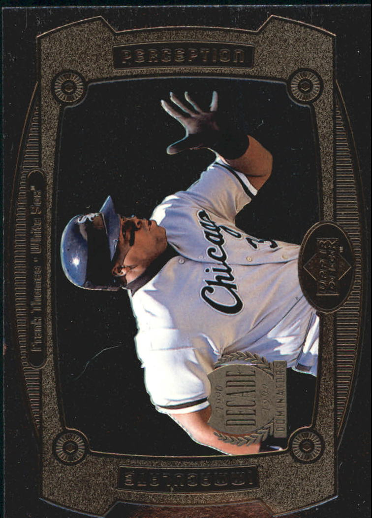 1999 Upper Deck Immaculate Perception #I23 Frank Thomas