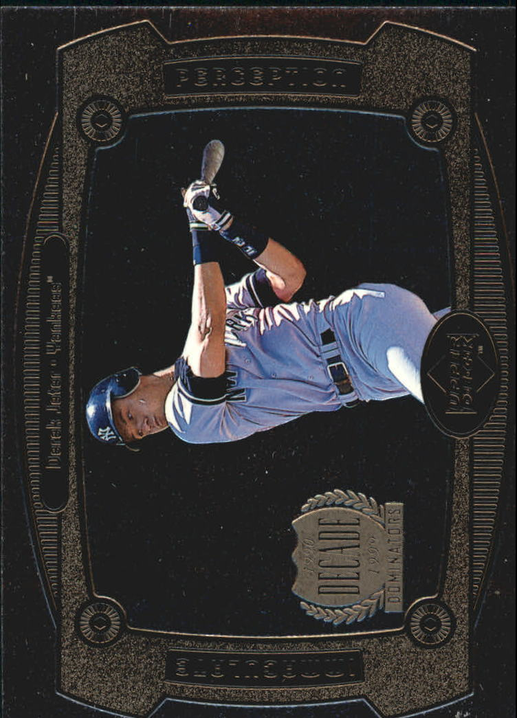 1999 Upper Deck Immaculate Perception #I27 Derek Jeter