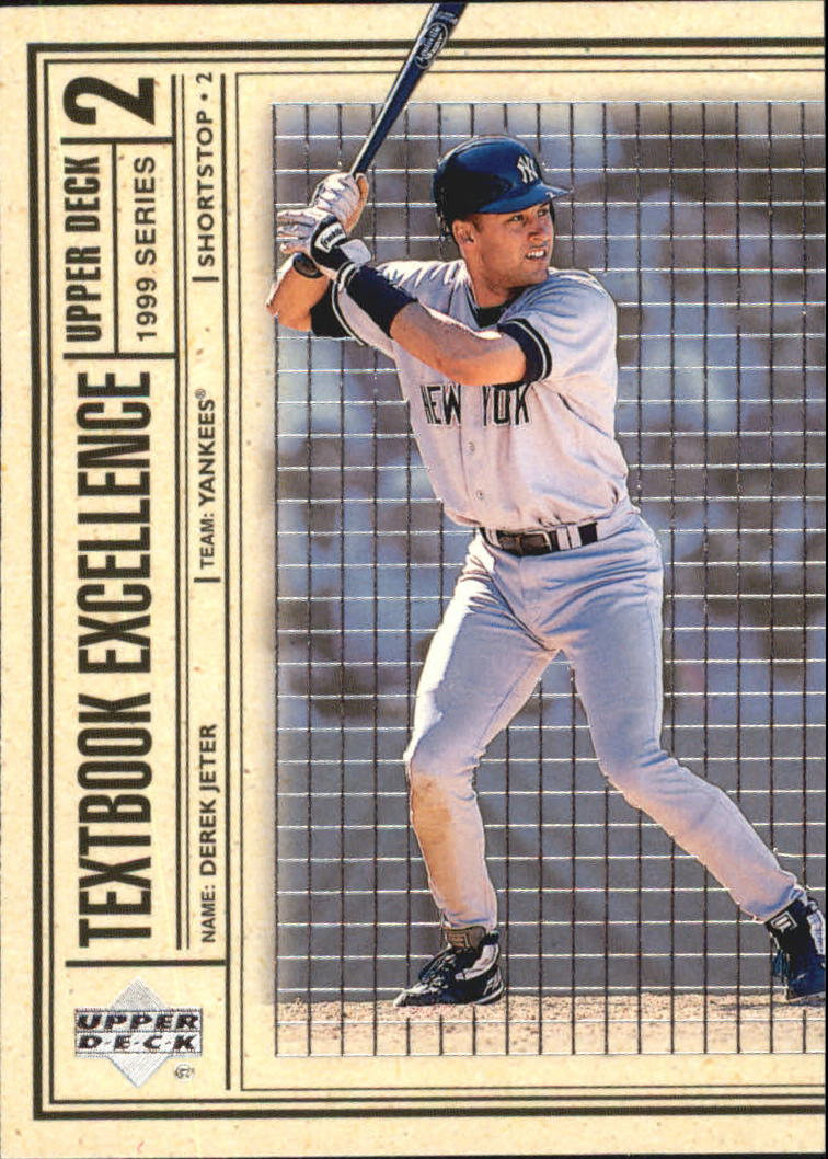 1999 Upper Deck Textbook Excellence #T17 Derek Jeter