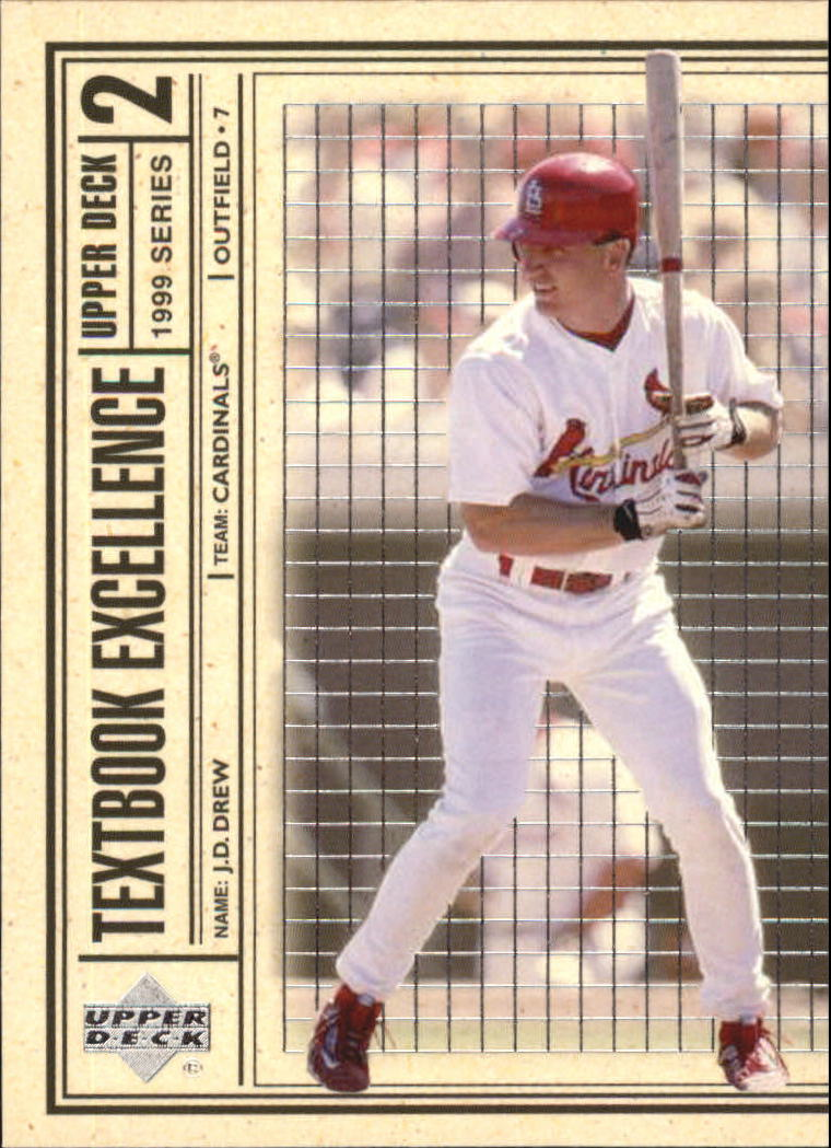 1999 Upper Deck Textbook Excellence #T23 J.D. Drew