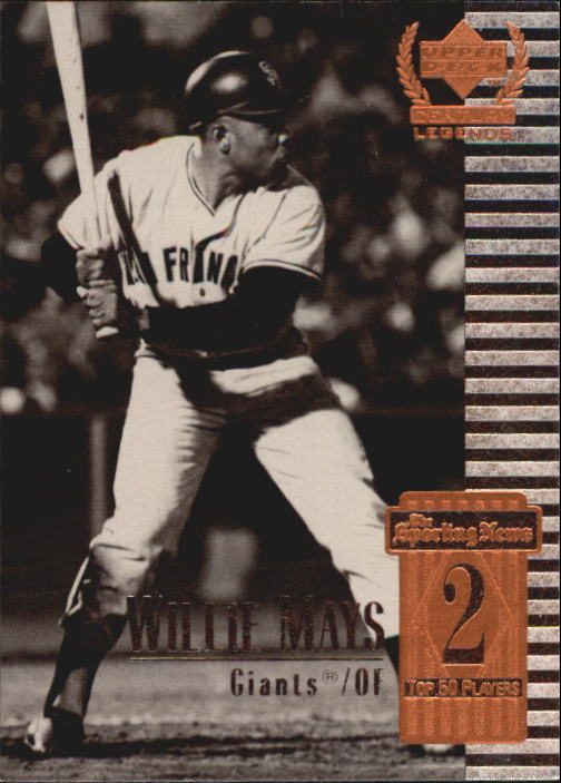 1999 Upper Deck Century Legends #2 Willie Mays