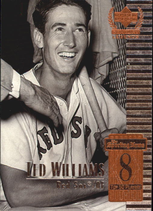 1999 Upper Deck Century Legends #8 Ted Williams
