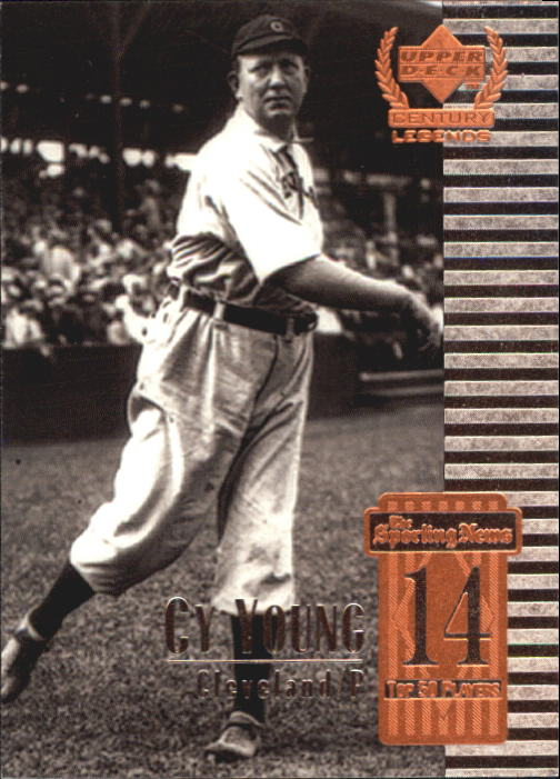 1999 Upper Deck Century Legends #14 Cy Young
