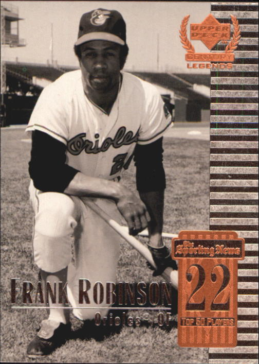 1999 Upper Deck Century Legends #22 Frank Robinson