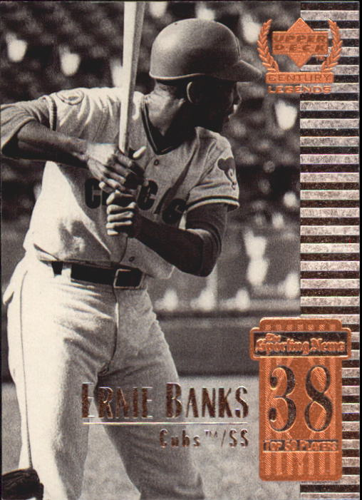 1999 Upper Deck Century Legends #38 Ernie Banks