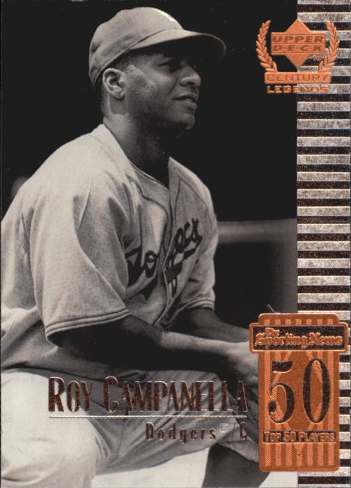 1999 Upper Deck Century Legends #50 Roy Campanella