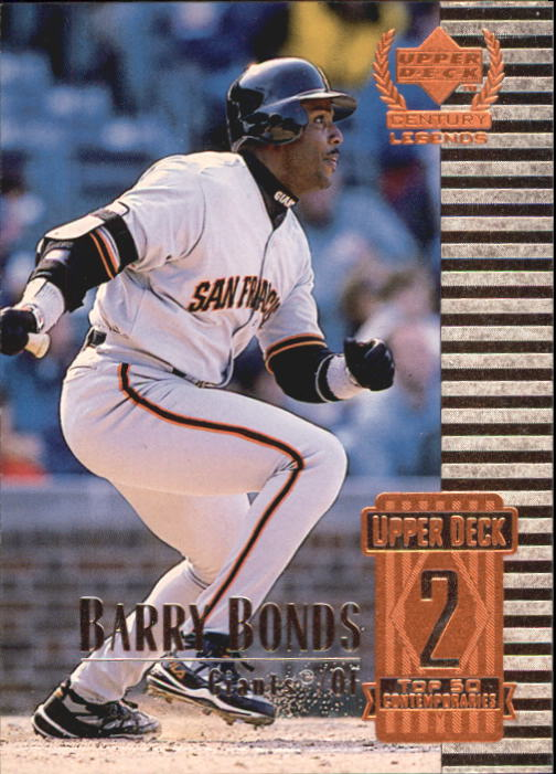 1999 Upper Deck Century Legends #52 Barry Bonds