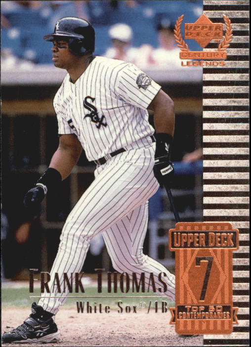 1999 Upper Deck Century Legends #57 Frank Thomas