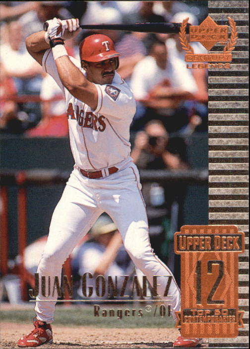 1999 Upper Deck Century Legends #62 Juan Gonzalez