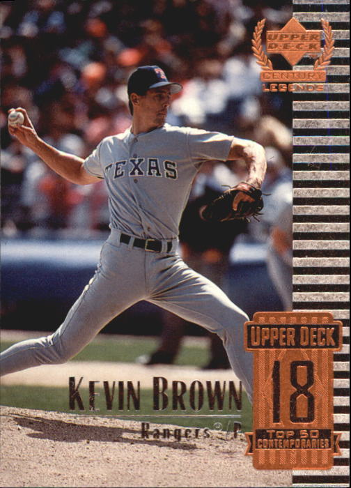 1999 Upper Deck Century Legends #68 Kevin Brown