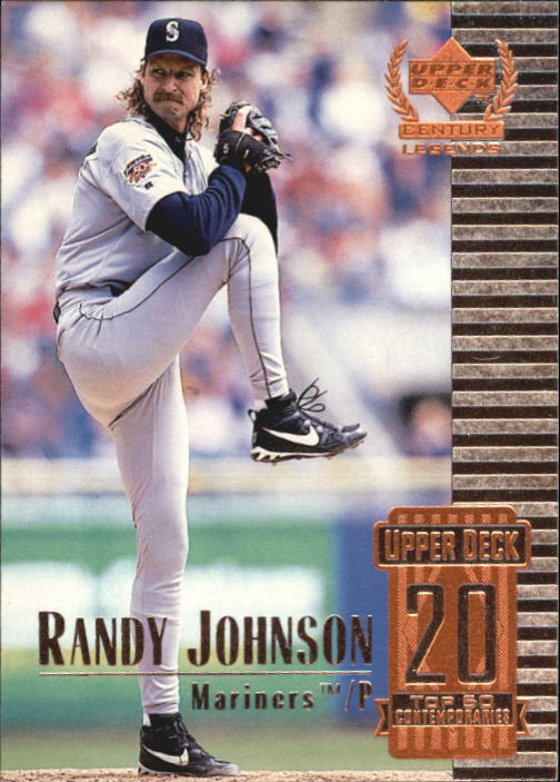 1999 Upper Deck Century Legends #70 Randy Johnson