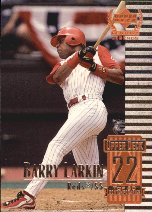 1999 Upper Deck Century Legends #72 Barry Larkin