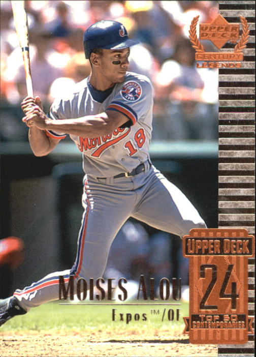 1999 Upper Deck Century Legends #74 Moises Alou