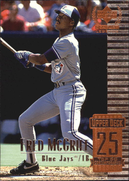1999 Upper Deck Century Legends #75 Fred McGriff
