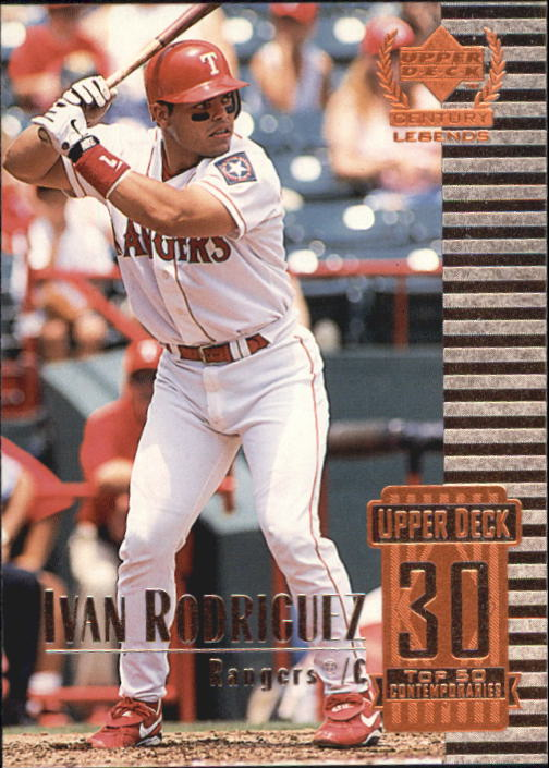 1999 Upper Deck Century Legends #80 Ivan Rodriguez