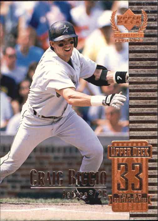 1999 Upper Deck Century Legends #83 Craig Biggio