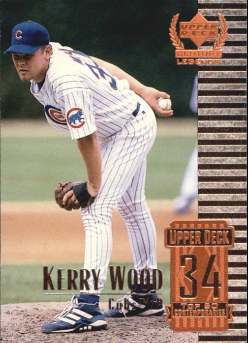 1999 Upper Deck Century Legends #84 Kerry Wood