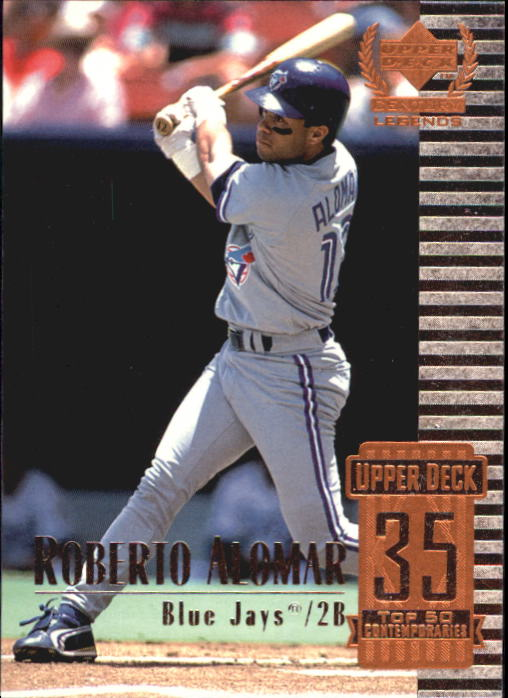 1999 Upper Deck Century Legends #85 Roberto Alomar