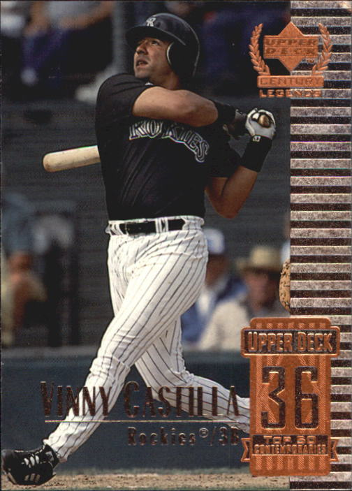 1999 Upper Deck Century Legends #86 Vinny Castilla
