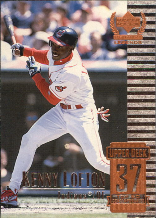 1999 Upper Deck Century Legends #87 Kenny Lofton
