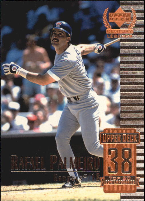 1999 Upper Deck Century Legends #88 Rafael Palmeiro