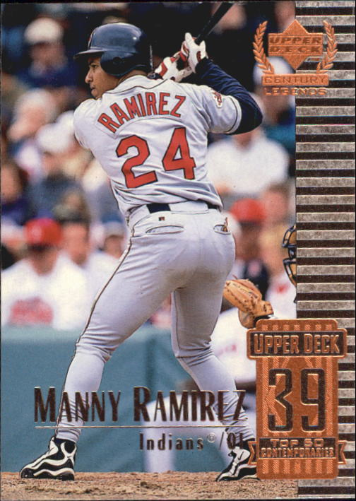 1999 Upper Deck Century Legends #89 Manny Ramirez