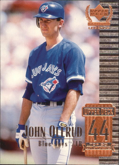 1999 Upper Deck Century Legends #94 John Olerud