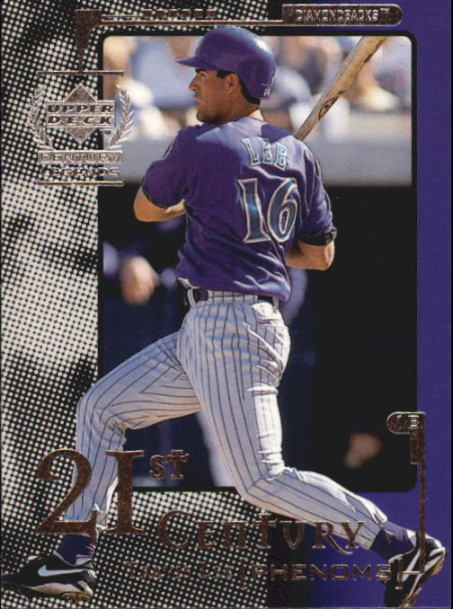 1999 Upper Deck Century Legends #106 Travis Lee 21CP