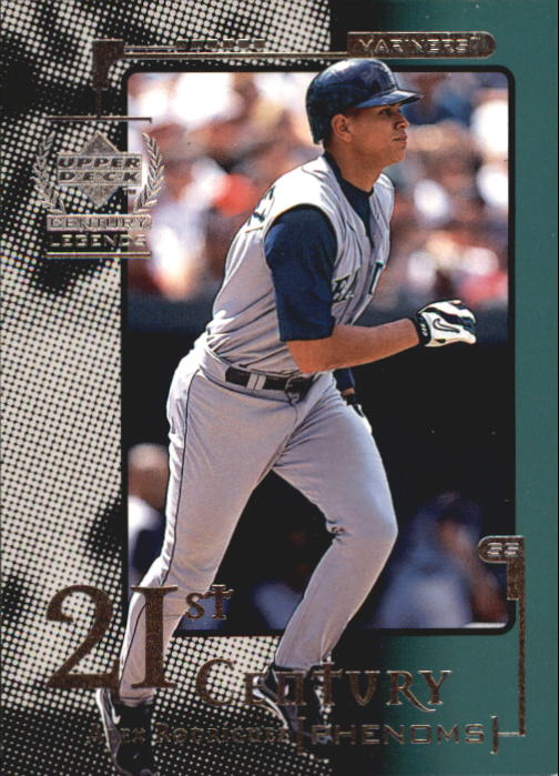 1999 Upper Deck Century Legends #109 Alex Rodriguez 21CP