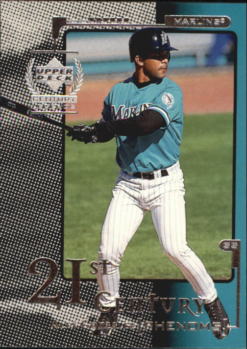 1999 Upper Deck Century Legends #114 Alex Gonzalez 21CP