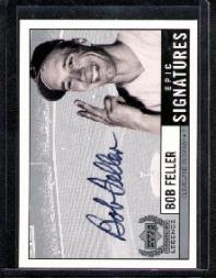 1999 Upper Deck Century Legends Epic Signatures #BF Bob Feller