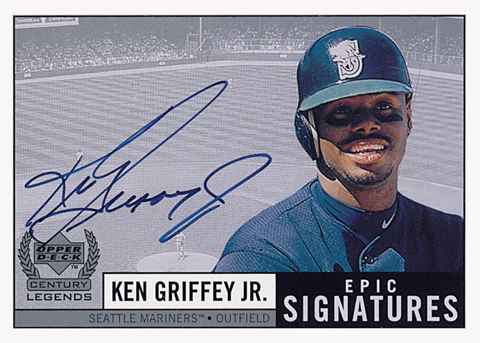 1999 Upper Deck Century Legends Epic Signatures #JR Ken Griffey Jr.