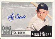 1999 Upper Deck Century Legends Epic Signatures #YB Yogi Berra