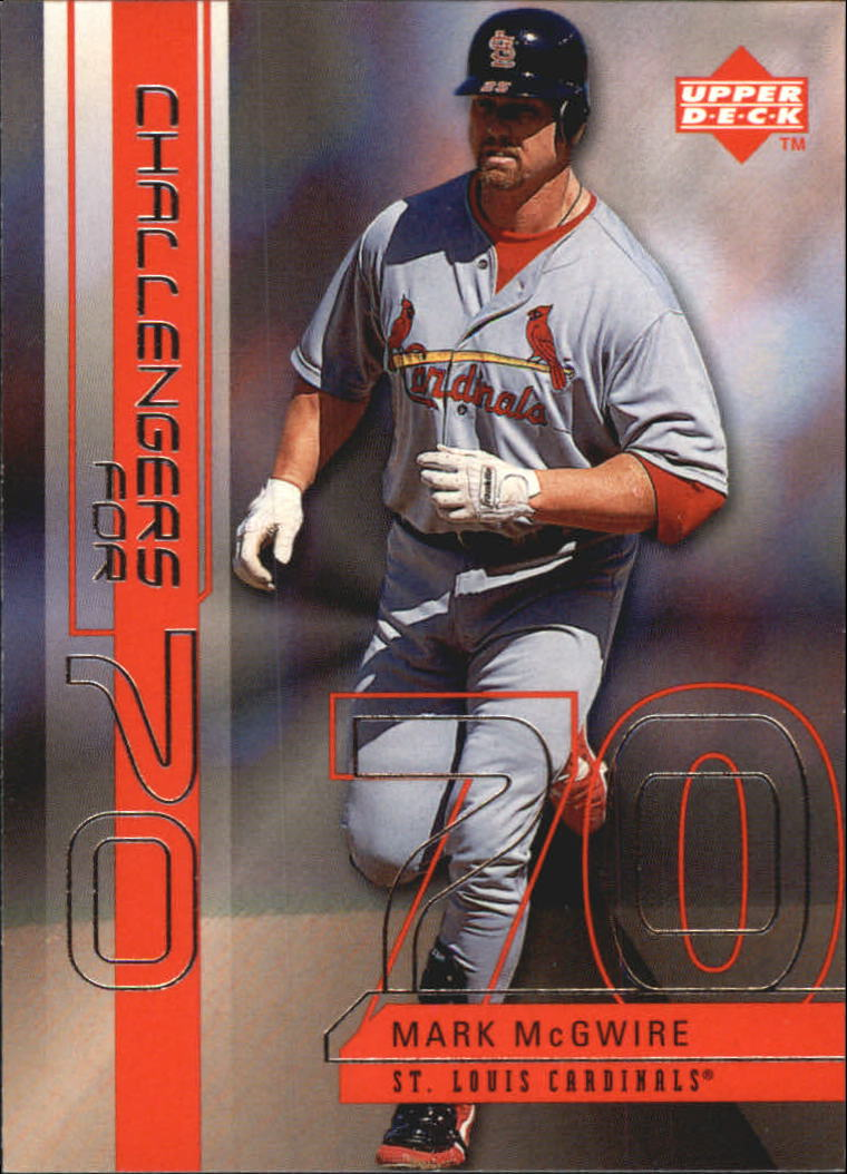 1999 Upper Deck Challengers for 70 Challengers Inserts #C1 Mark McGwire