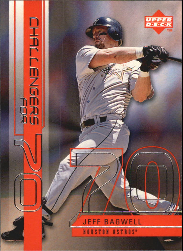 1999 Upper Deck Challengers for 70 Challengers Inserts #C16 Jeff Bagwell