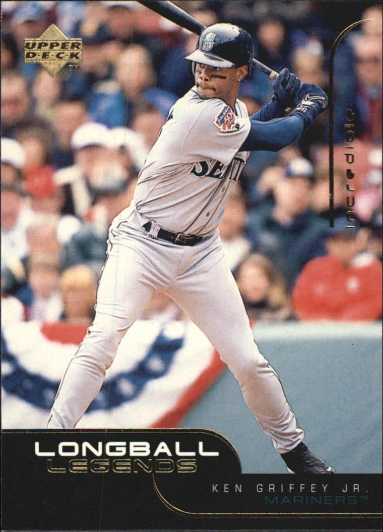 1999 Upper Deck Challengers for 70 Longball Legends #L1 Ken Griffey Jr.