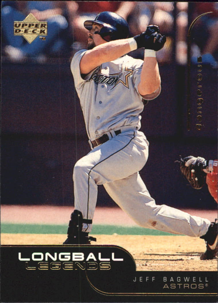 1999 Upper Deck Challengers for 70 Longball Legends #L11 Jeff Bagwell