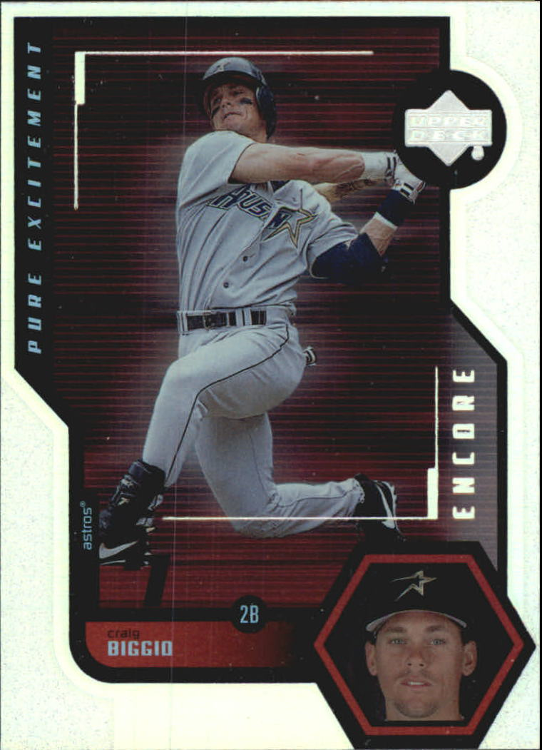1999 Upper Deck Encore Pure Excitement #P15 Craig Biggio