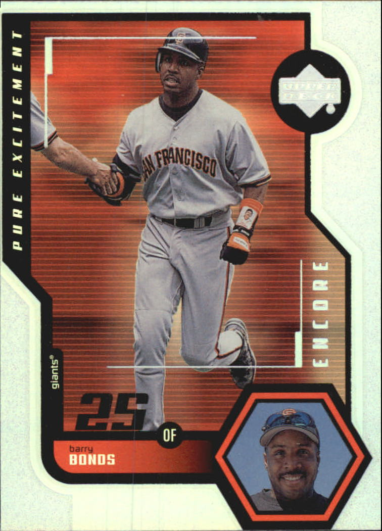 1999 Upper Deck Encore Pure Excitement #P25 Barry Bonds