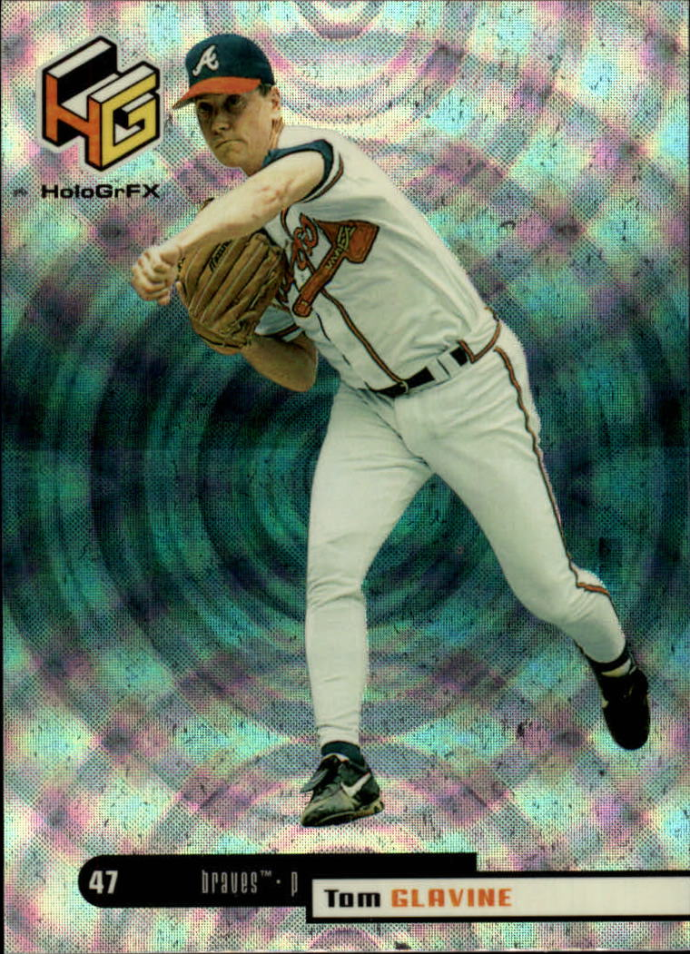 1999 Upper Deck HoloGrFX #9 Tom Glavine