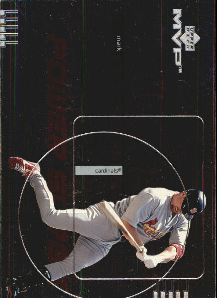 1999 Upper Deck MVP Power Surge #P1 Mark McGwire