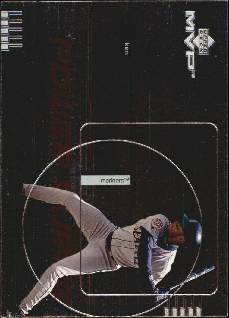 1999 Upper Deck MVP Power Surge #P3 Ken Griffey Jr.