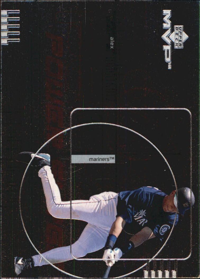1999 Upper Deck MVP Power Surge #P4 Alex Rodriguez