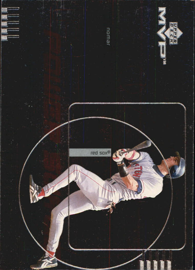 1999 Upper Deck MVP Power Surge #P6 Nomar Garciaparra